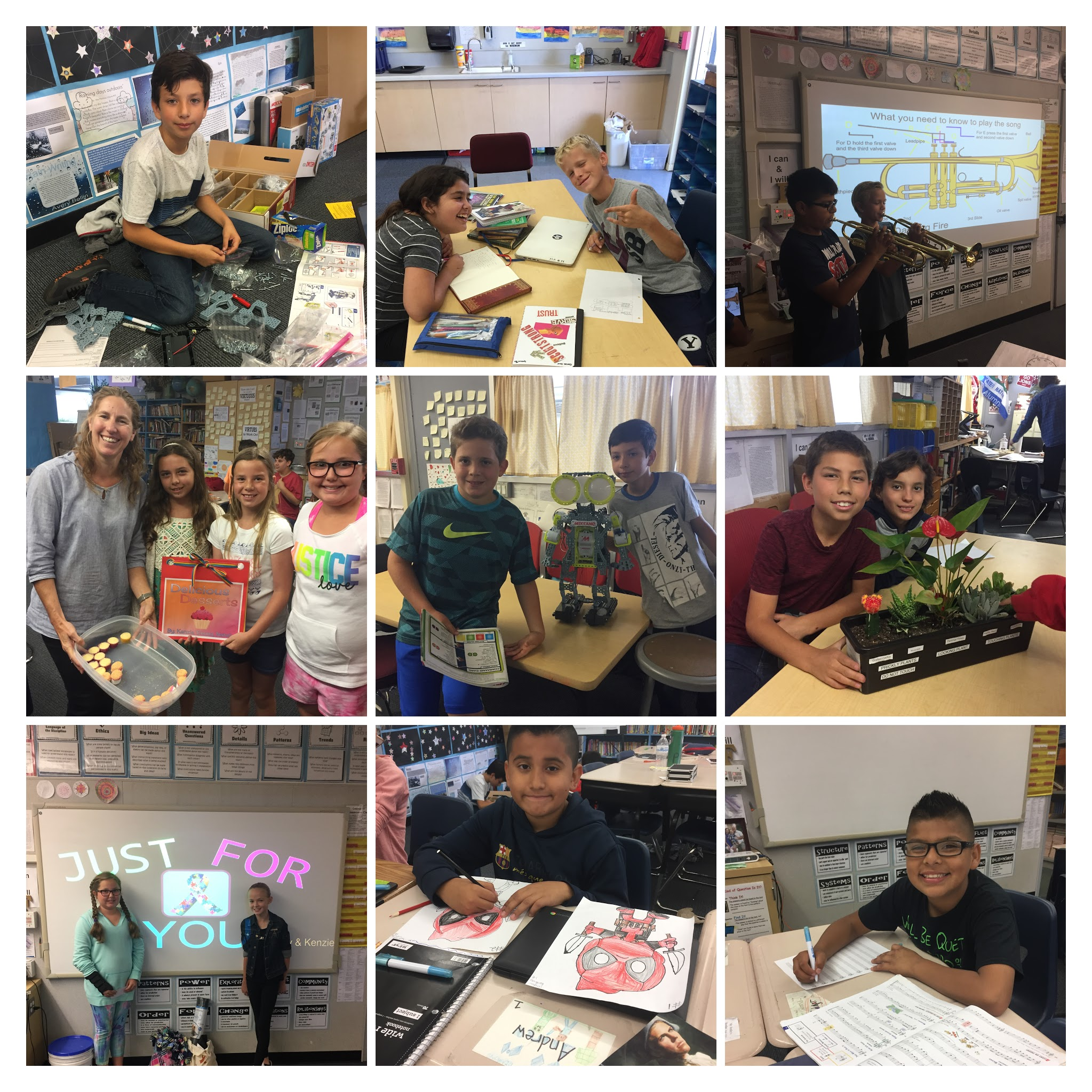 Genius Hour Collage
